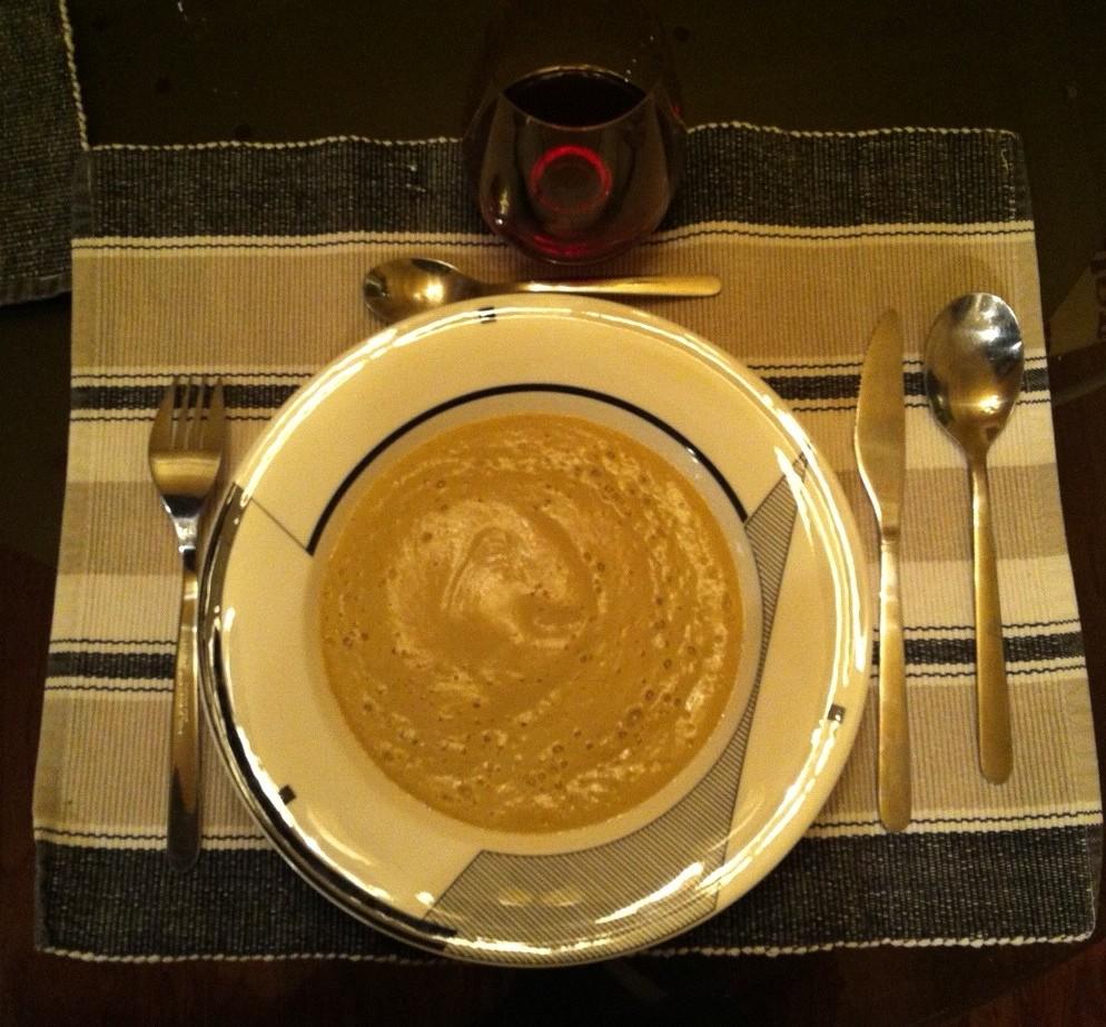 soupe de chou-fleur aux épices