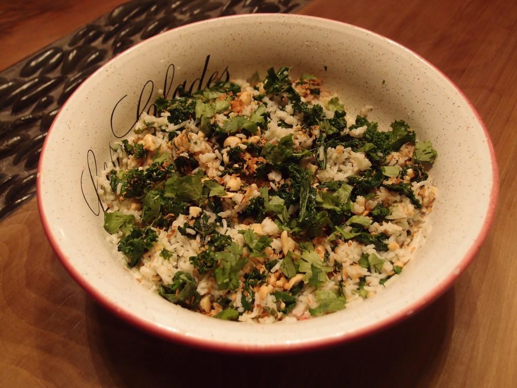 Riz au lait de coco coconut rice magali 39 s healthier kitchen - Riz lait de coco ...