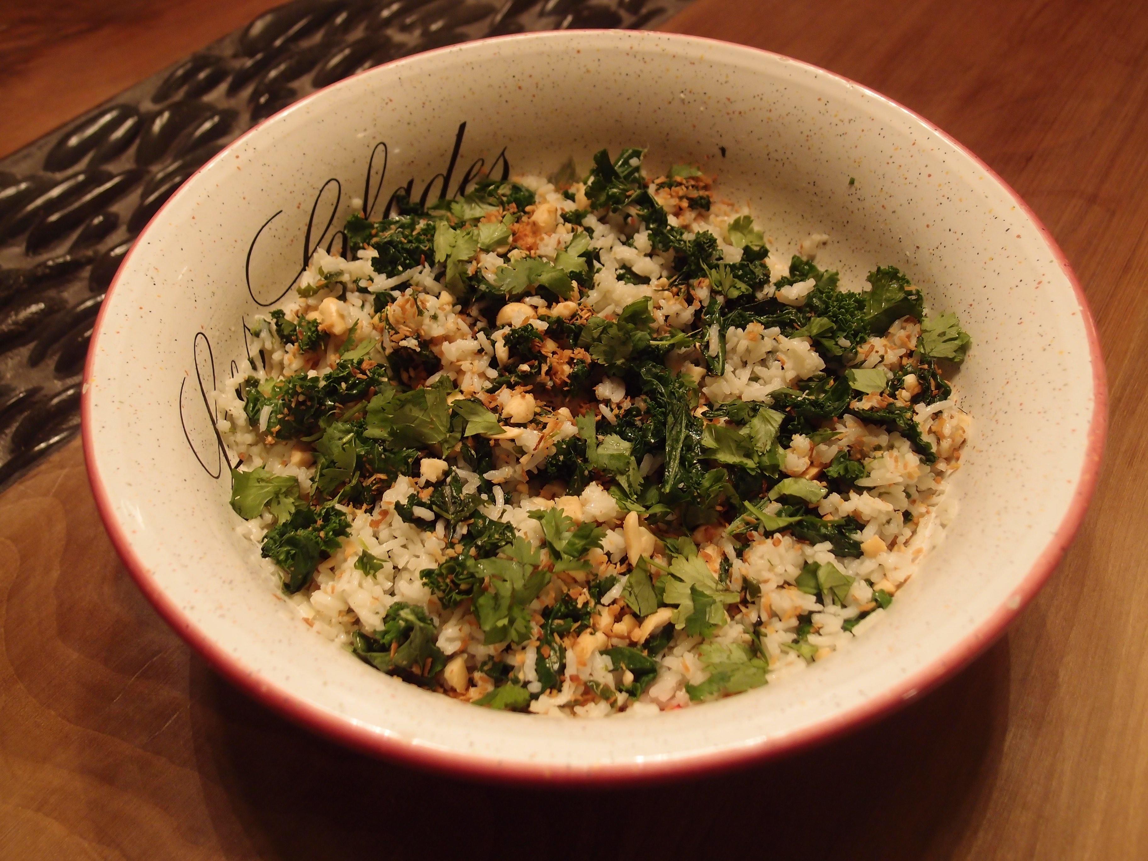 Riz au lait de coco – Coconut Rice