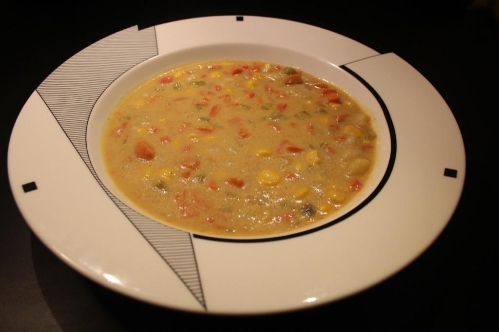 soupe legumes cacahuete