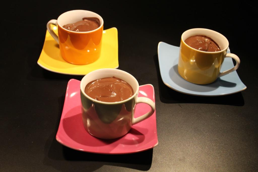Petits pots au chocolat et épices – Spicy chocolate mousse