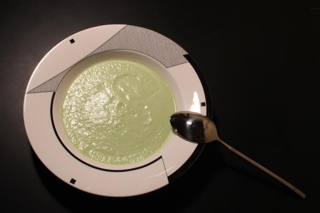 Velouté de brocoli – Cream of Broccoli (without cream!)