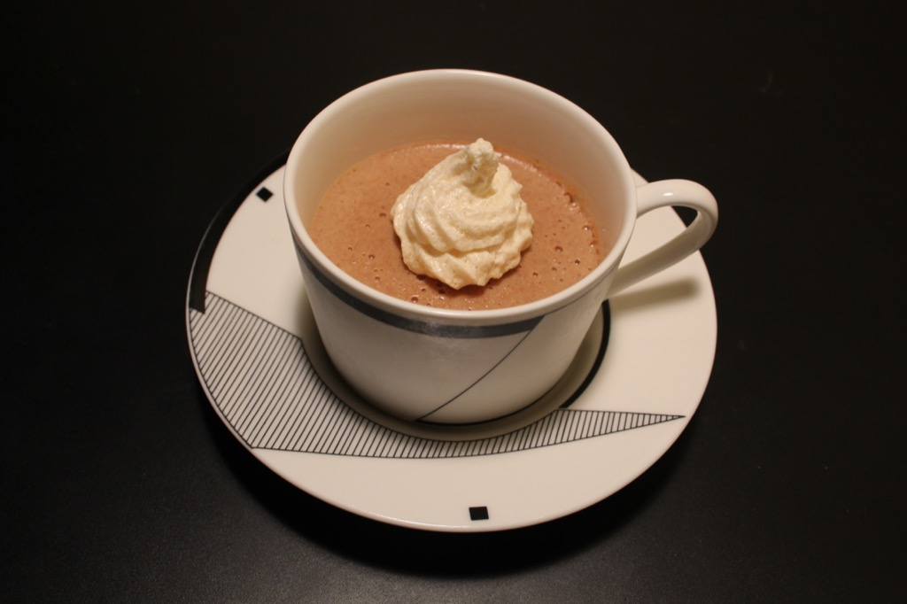 Flans aux dattes et à la fleur d'oranger – Dates and Orange blossom pudding
