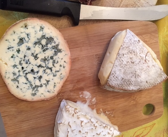 Plateau de fromages – Cheese platter