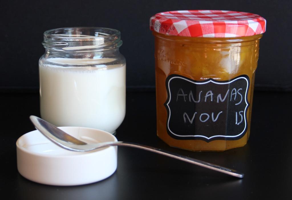 Yaourts maison bien fermes sans poudre de lait – Home made Yoghurts