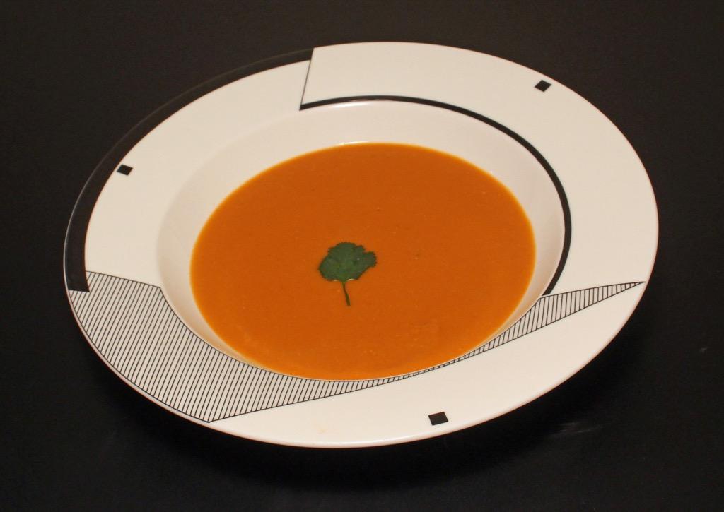 Soupe aux lentilles corail et tomate – Red lentils and tomato soup