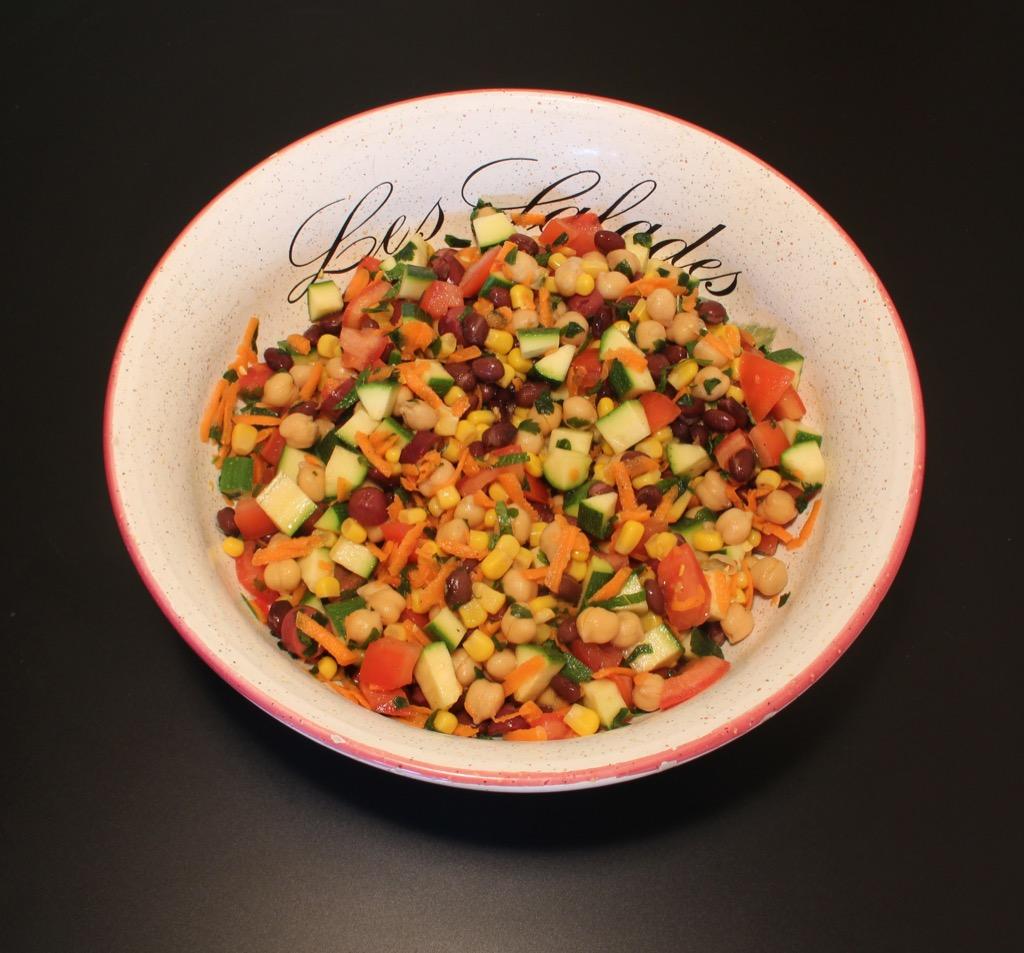Salade composée Méditerranéenne– Mediterranean mixed Salad