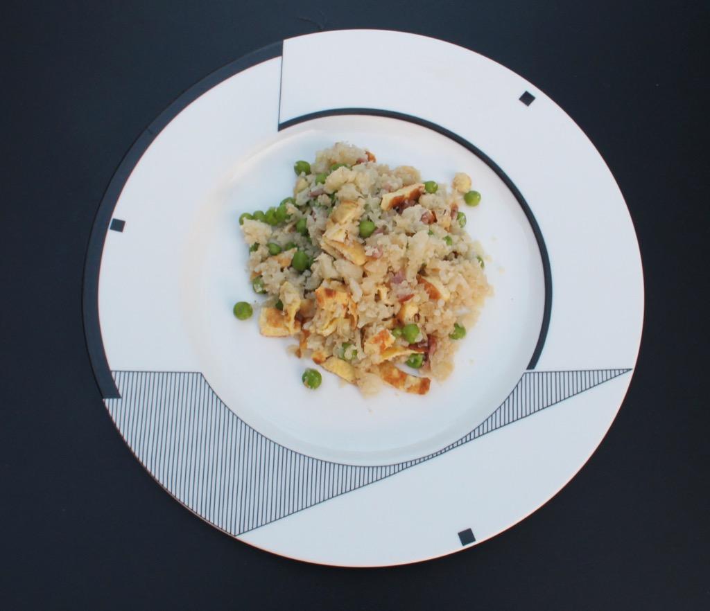 """Chou-Fleur Cantonnais – Cauliflower """" Fried Rice"""""""