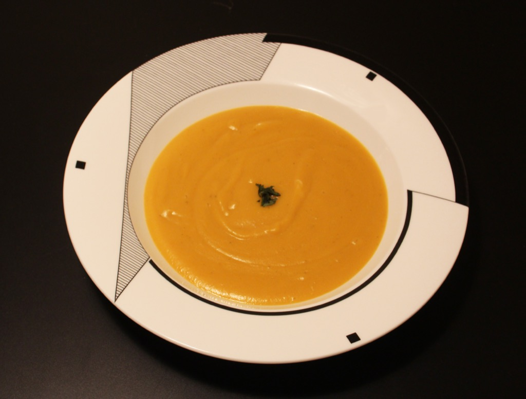 Velouté patate douce et lait de coco – Sweet potato and coconut soup