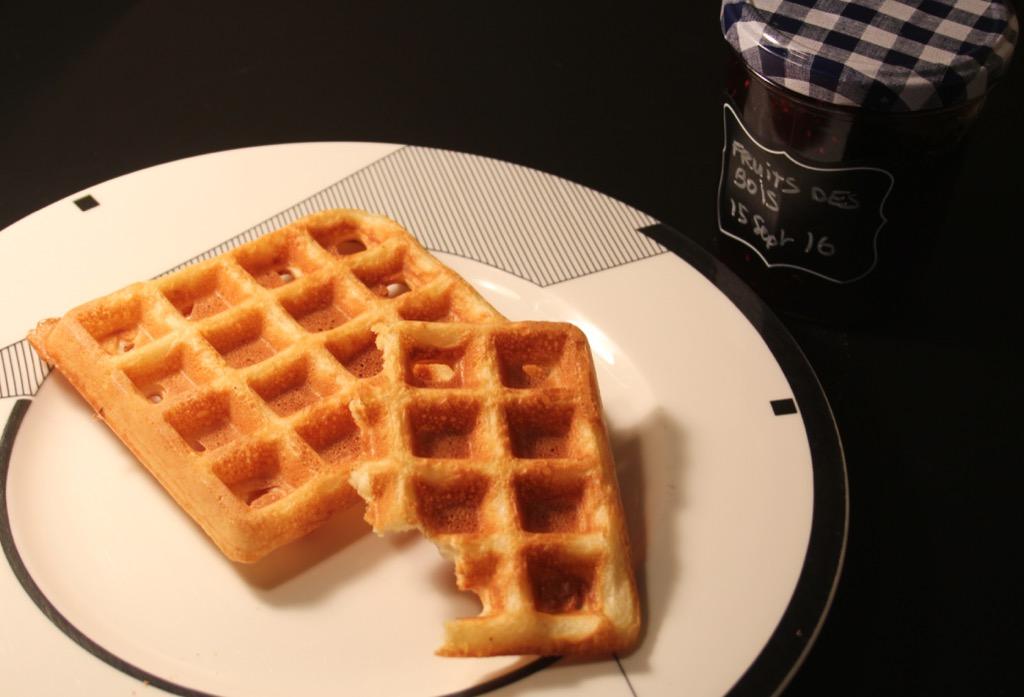 Gaufres Spéciales Petit Dej – Breakfast waffles