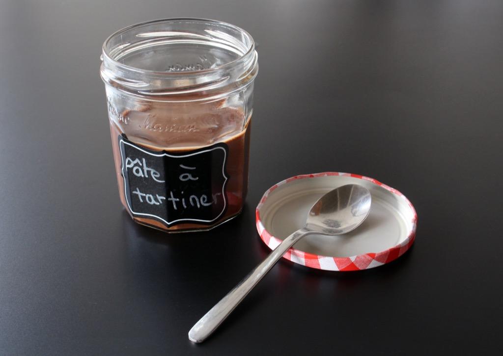 Pâte à tartiner choco-noisettes sans cochonneries / Healthier chocolate-hazelnuts spread