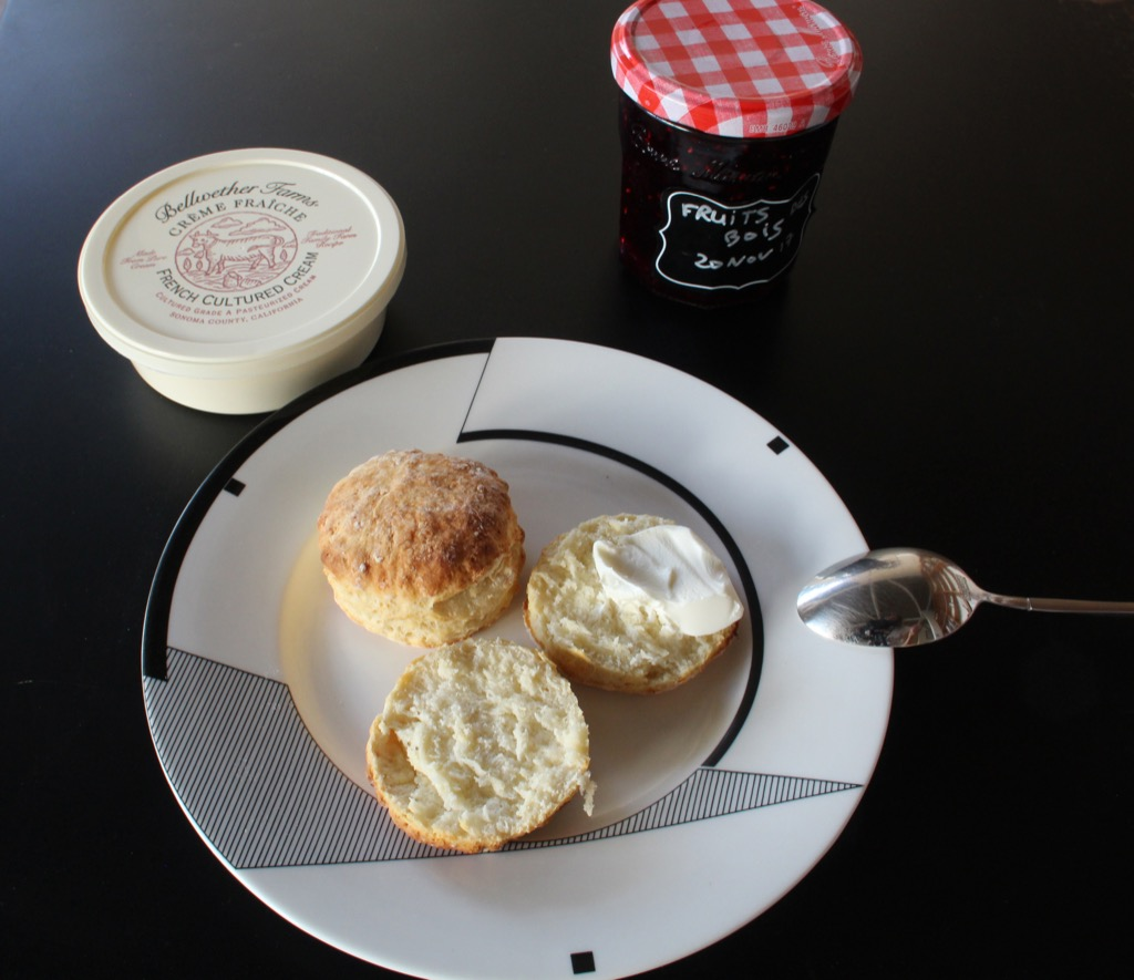 Scones Franco Australiens – Australian scones with a French twist