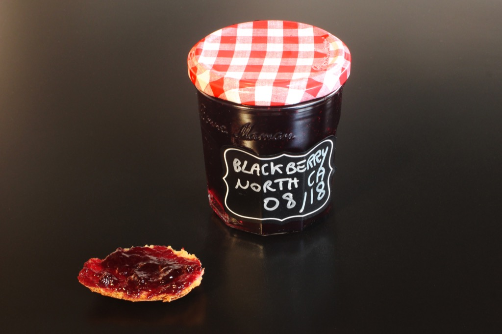 Gelée de mûres Nord Californiennes sans pépins- Seedless Northern California Blackberry Jelly