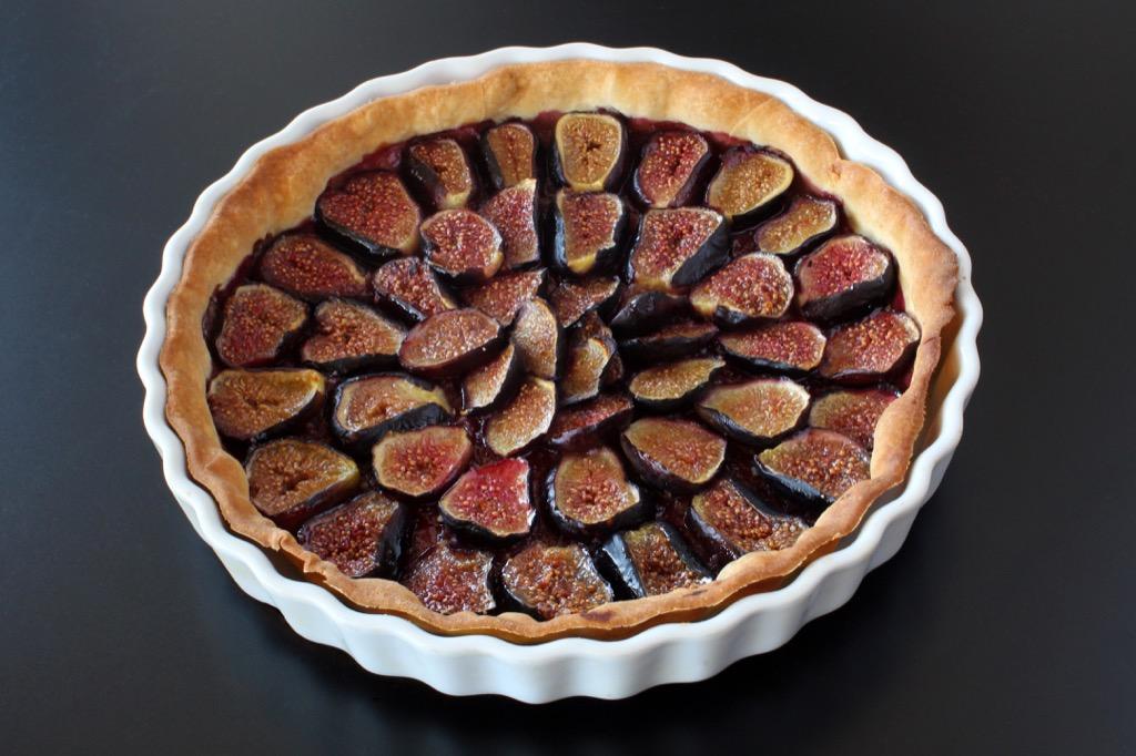 Tarte aux figues fraîches – Fresh figs tart