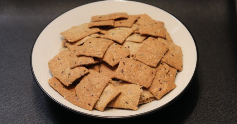 Crackers au sarrasin – Buckwheat crackers