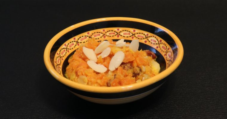 Halwa carottes – Carrot Halwa